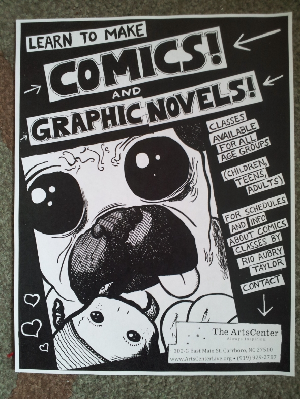 Graphic Novel Flier Pic